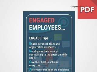 Discussion Card: Engaged Employees