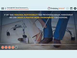 TrainingBriefs™ Sexual Harassment Is...